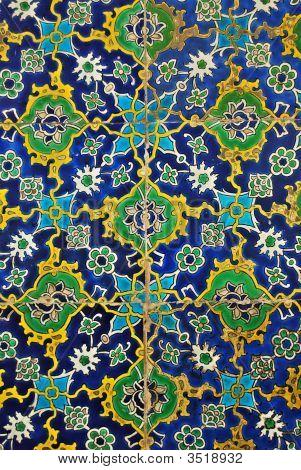 Blue Iznik Tiles