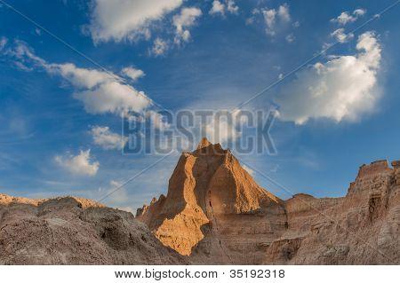 Badlands Skyline