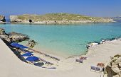 Umbrellas In Comino