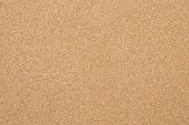 seamless detailed of the Cork-board background texture