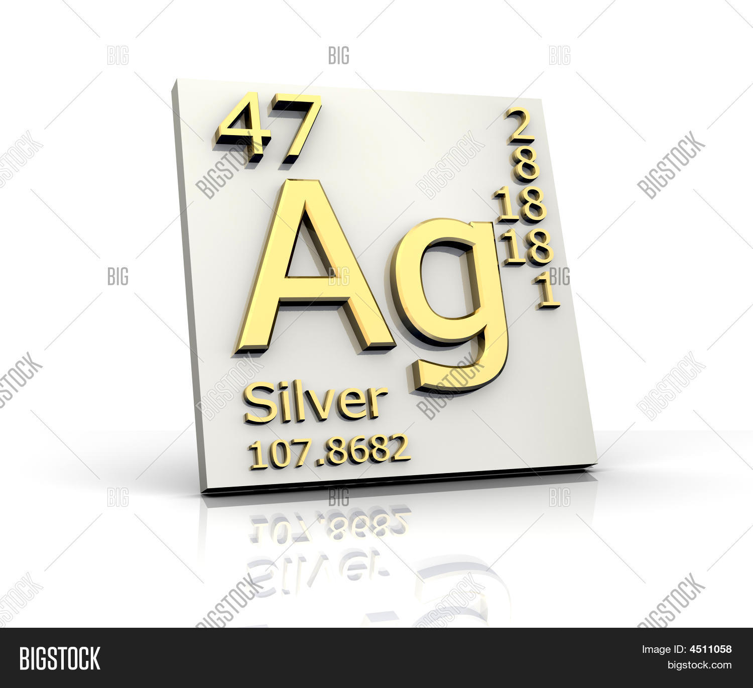 Silver form periodic table elements image photo bigstock silver form periodic table of elements gamestrikefo Image collections