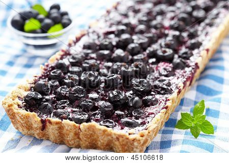 Currant Blueberry Pie