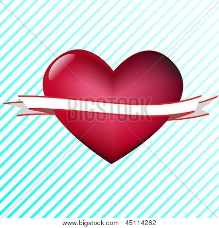 Heart with tape
