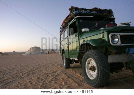 Desert Rover At Sunset - Green 2