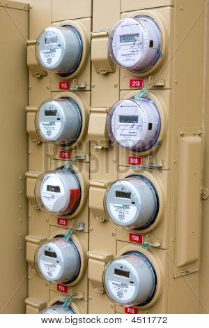 Aparatos de electromedida apartamentos
