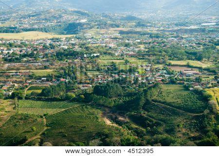 Vista aérea de San José en Costa Rica