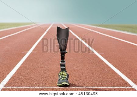 Athletic Sports Prosthesis Standing Track And Field