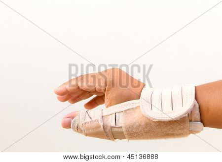 Man Injury Hand Finger