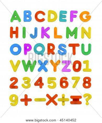 Child's Abc Letters