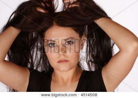 Lifting Hair Up