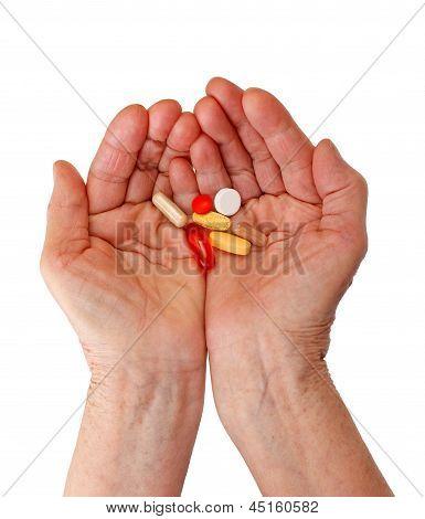 Holding Pills
