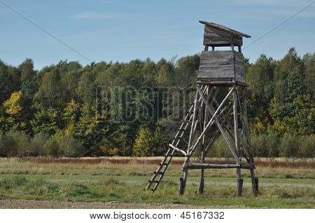 Hunting pulpit, Polish country