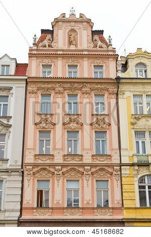 Old Building From Prague