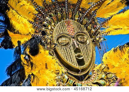 Feathery Carnival Mask
