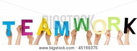 Hands Holding Teamwork