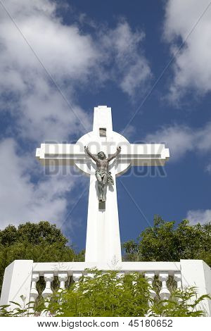 Gustavia Cross, St. Barts, French West indies