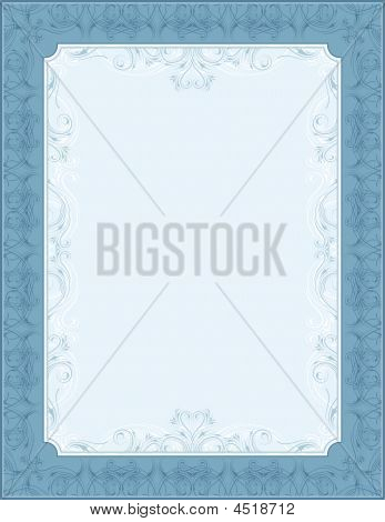 Blue Background, Vector