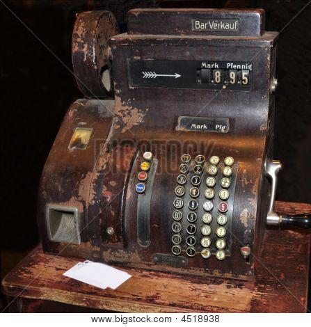 Old German Cash Register