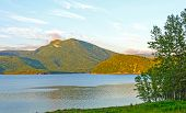 stock photo of bonnes  - Late Evening on Bonne Bay in Gros Morne National Park - JPG