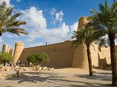 picture of riyadh  - Al Masmak fort in the Riyadh city - JPG