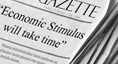 Stimulus Will Take Time