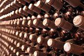 picture of wine bottle  - wine bottles - JPG