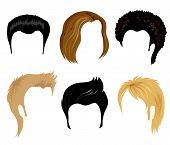 Men Hairstyling poster