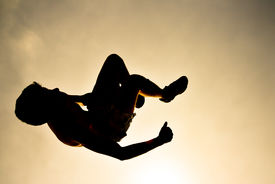stock photo of parkour  - Parkour  - JPG