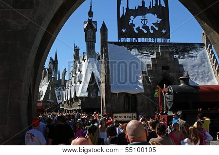 Entrance To Wizarding World