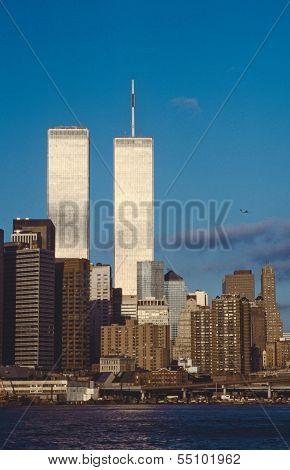 Lower Manhattan And  World Trade Center