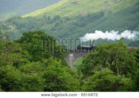 Glenfinnan Viaduct Aka Hogwarts Express