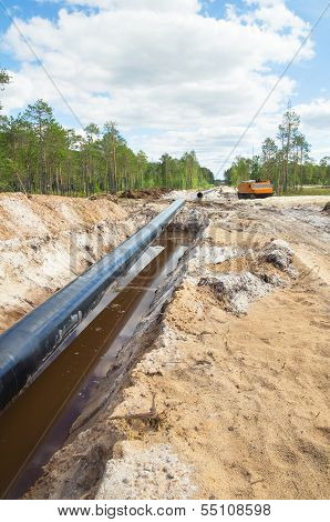 Construction of the pipeline
