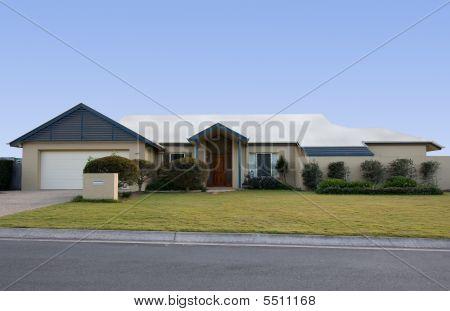 Modest But Modern House