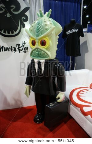 Munky King At Comic-con