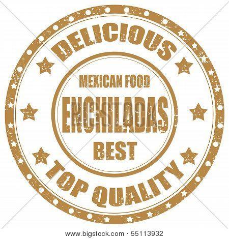 Enchiladas-stamp
