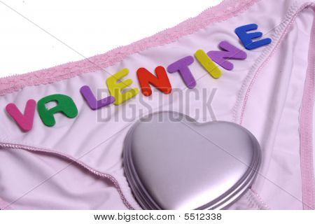 Valantine On A Ladies Pants