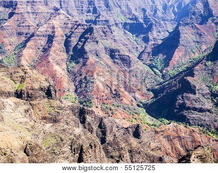 Ridges Of Waimea Canyon