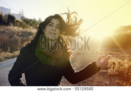 Flare Portrait
