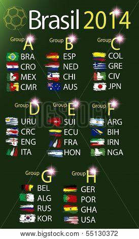 Brasil 2014 land grops table