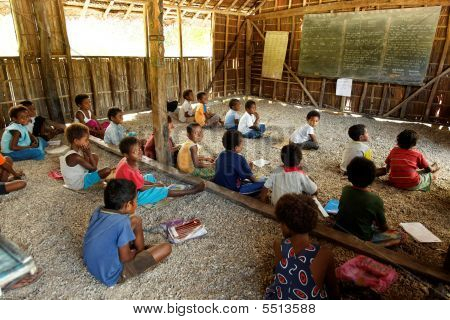 School In Papua New Guinea