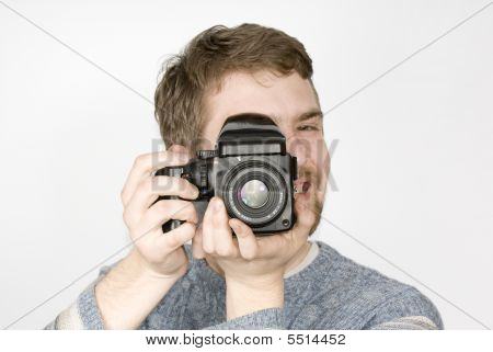 Happy Photographer