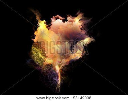 Inner Life Of Fractal Nebulae