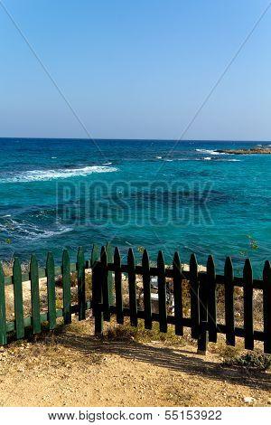 Ayia Napa Beach , Cyprus, a sunny day