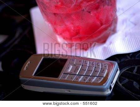 Phone And A Drink