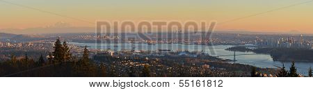 Vancouver Panoramic Cityscapes