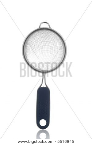 Tea Filter Isolated On White