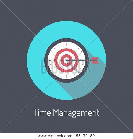 Time Management Illustration Concept
