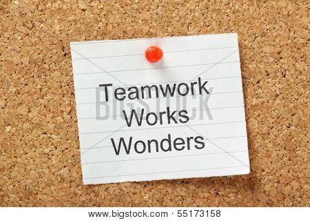 Teamwork Works Wonders