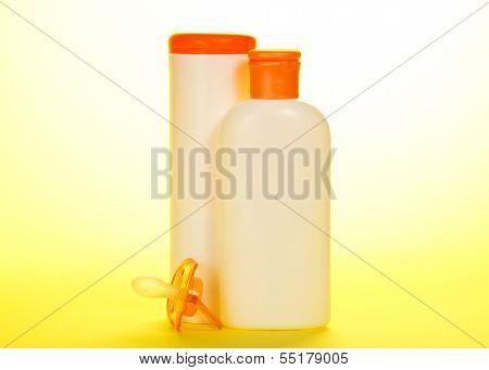 Children's powder and oil