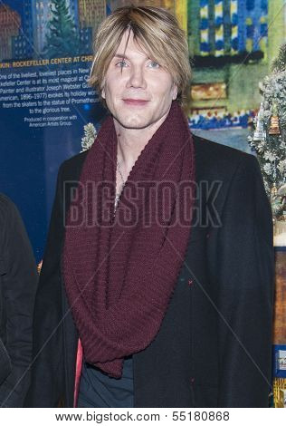 NEW YORK-DEC 4: Singer John Rzeznik of the Goo Goo Dolls attends the 81st Annual Rockefeller Center Christmas Tree Lighting Concert on December 4, 2013 in New York City.